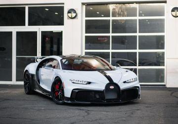 Лимитированный Bugatti Chiron Pur Sport добрался до первого владельца