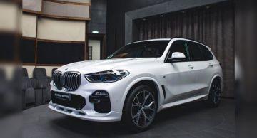 Представлен спортивный внедорожник BMW X5 с аэродинамическим пакетом 3D Design