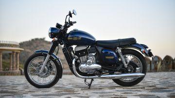 Обновлённый мотоцикл Jawa 42 заметили на тестах