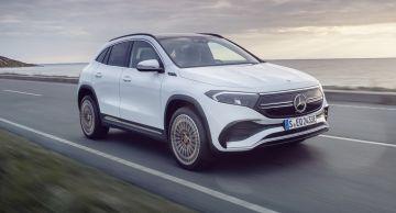 Mercedes EQA 2021 признан самым маленьким и доступным электрокаром бренда