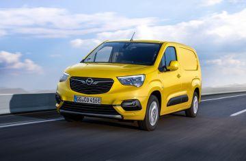 Представлен электрический вариант Opel Combo