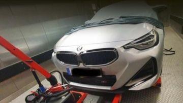 Купе BMW 2-Series 2022 года заметили на зимних тестах