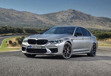 1000-сильный BMW M5 сразился в гонке против раллийных машин (ВИДЕО)