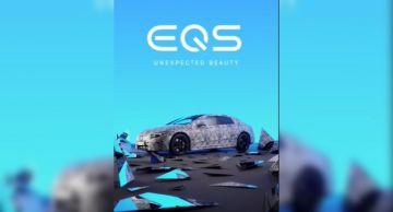 Новый Mercedes-Benz EQS 2022 года показали на видео