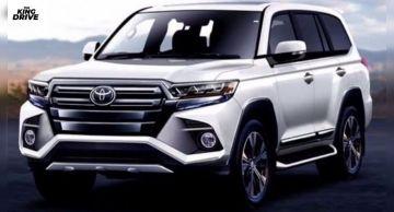 Приём заказов на Toyota Land Cruiser 300 начнётся в марте