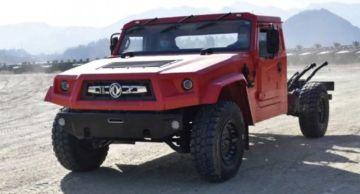 Аналог Hummer H1 из Китая начнут продавать в марте 2021 года