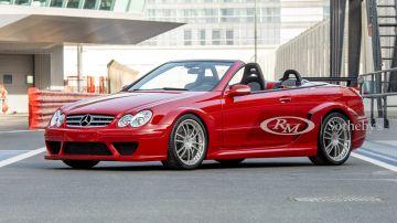 С молотка уйдёт редкий кабриолет Mercedes-AMG из королевских гаражей
