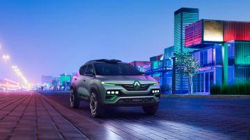 Компания Renault официально представит серийную версию кроссовера Kiger 28 января