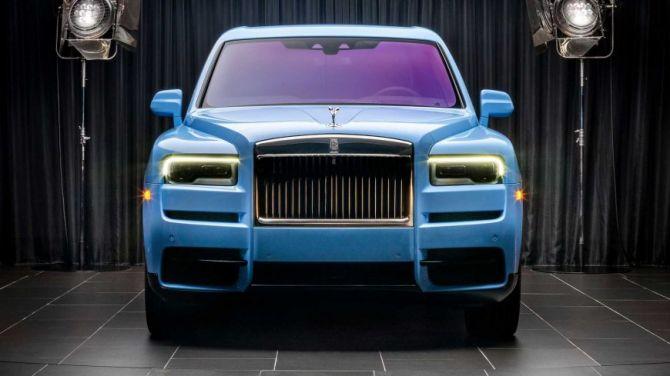 Rolls-Royce Cullinan получил эксклюзивную коллекцию оттенков кузова