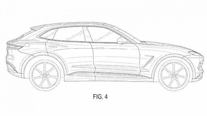 Karma запатентовала свой первый электрический купе-кроссовера