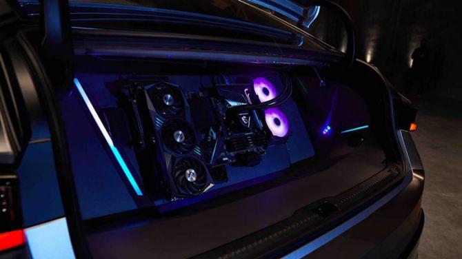 Lexus IS превратили в игровую приставку