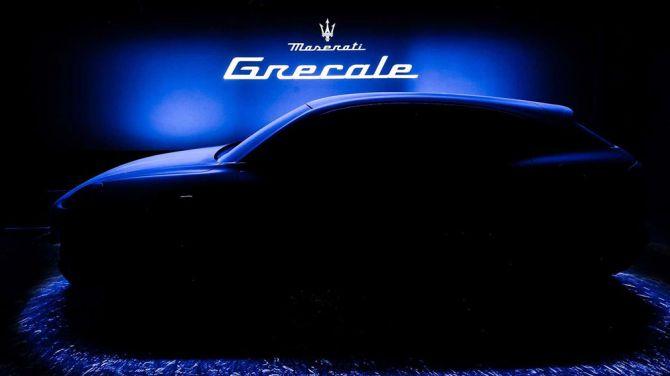 Maserati опубликовала тизеры нового кроссовера Grecale