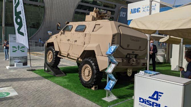 В Белоруссии представили новый бронеавтомобиль МЗКТ-490101