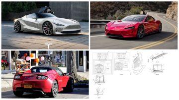 Tesla запатентовал уникальную технологию стеклоочистки для Tesla Roadster
