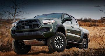 Toyota представила пикап Tacoma с комплектом TRD