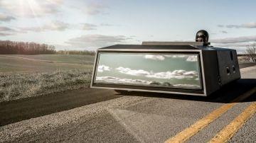 В сети показали автомобиль, который выглядит как зеркало заднего вида