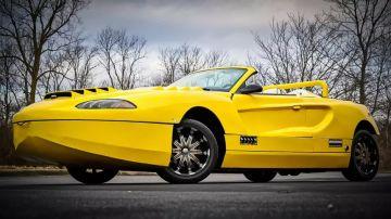 На продажу выставили суперкар-амфибию с мотором от Chevrolet Corvette