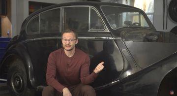 70-летний Jaguar Mark V станет «электричкой» (ВИДЕО)