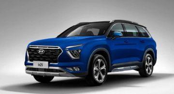 Конкурент Skoda Kodiaq от Hyundai получит большой мультимедийный планшет