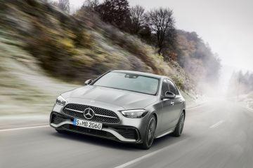 Дебютировал новый седан Mercedes-Benz C-Class 2022 и универсал (ВИДЕО)