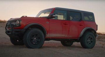 Подробный взгляд на Ford Bronco Wildtrak 2021 года