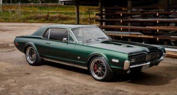 Тюнеры из Ringbrothers создали олдскульный маслкар Mercury Cougar с мотором Coyote V8