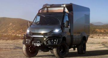 Представлен автодом для бездорожья Darc Mono из углеродного волокна