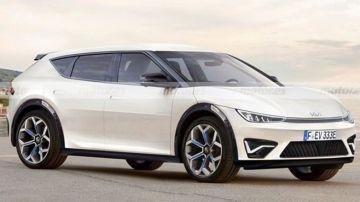 Электрокар Kia CV дебютирует к лету 2021 года