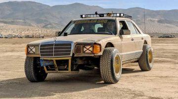 Mercedes-Benz S-класса превратили в дизельный внедорожник за 0 (ВИДЕО)
