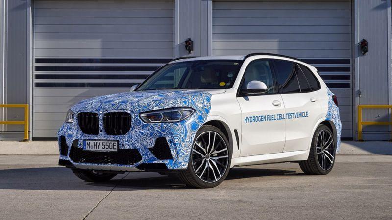 Водородные BMW X5 начали тестировать на обычных дорогах