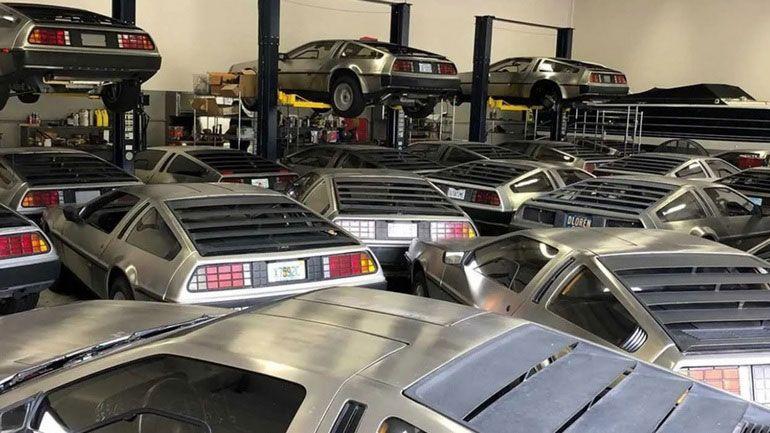 В США обнаружен склад с новыми автомобилями DeLorean DMC-12 (ФОТО)