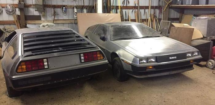 В США обнаружен склад с новыми автомобилями DeLorean DMC-12 2