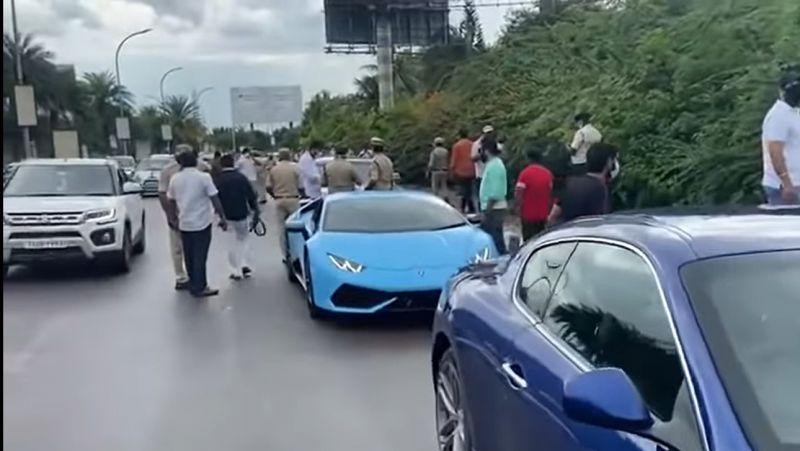 За уклонения от уплаты налогов было конфисковано 12 элитных автомобилей 1