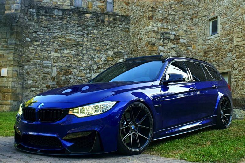 BMW M3 Touring 2023 года тестируют на Нюрбургринге